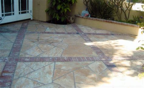 brick and flagstone patio flagstone restoration cleaning vaporlux stone tile restoration