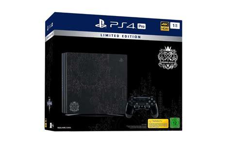 kingdom hearts 3 media markt h 252 bsch sony bringt zum release kingdom hearts 3 eine limitierte playstation auf den markt