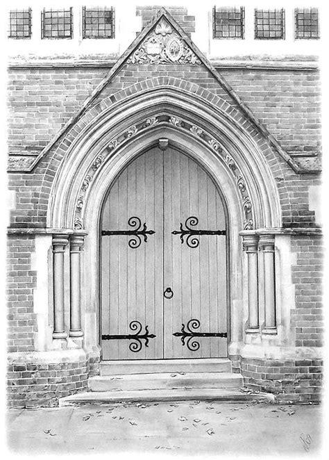 church door drawing  anna shipstone