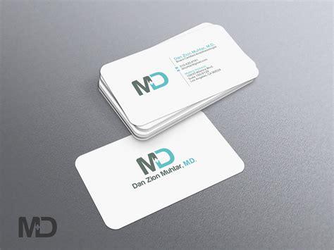 Masculine, Serious, Medical Business Card Design For A Business Card Design Font Size Moving Images Minimalist Mockup Visiting Holder Highlights Kraft Makeup Indesign