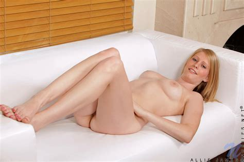 Allie James With A Dildo Still Nailed In Her