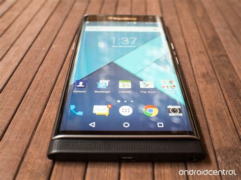 blackberry android phone blackberry priv review android central