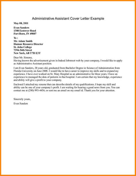 office assistant resume cover letter 7 cover letter exle for office assistant cashier resumes