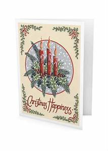 Christmas Candles Greeting Card – Kelly Hall Designs