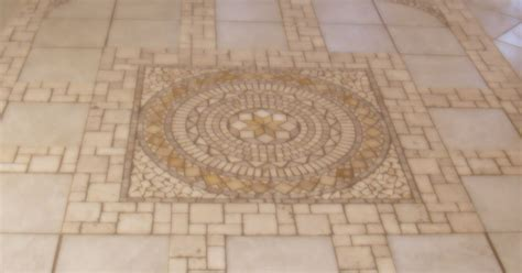 heated stone tile floor   sun room  laied