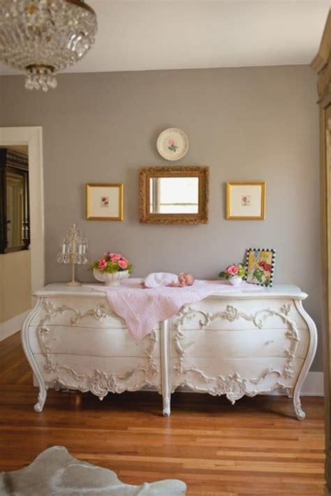 sophisticated pink  grey vintage baby girl nursery kidsomania