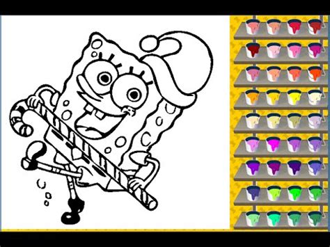 spongebob coloring pages coloring pages  kids youtube