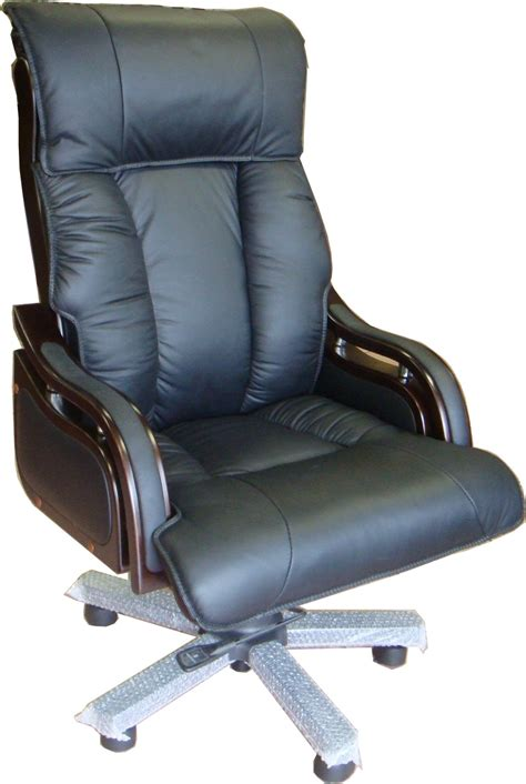 executive leather office chair high back seven