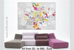 Kunst Für Zuhause : gro e gem lde farbenfrohe malerei abstrakte acrylbilder art4berlin ~ Sanjose-hotels-ca.com Haus und Dekorationen