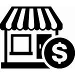 Business Icon Icons Commercial Library Hosting Inc