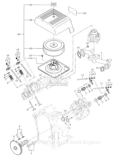 Robin Subaru Parts Diagram For Intake Exhaust Old Type