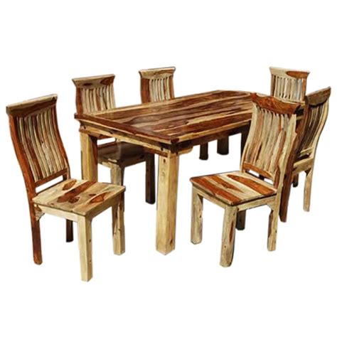 piece formal dining room kitchen table chair set rustic