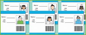 Hospital Role Play ID Badges...A collection of hospital ID ...