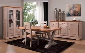salle a manger rustique paris chene bi teinte meubles With salle À manger contemporaineavec salle a manger bois massif