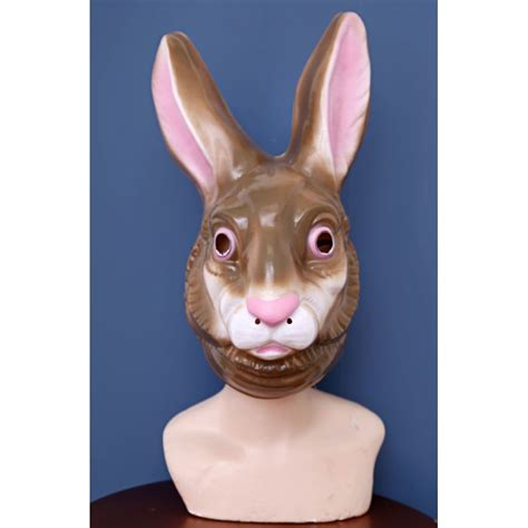 creepy rabbit mask alice  wonderland