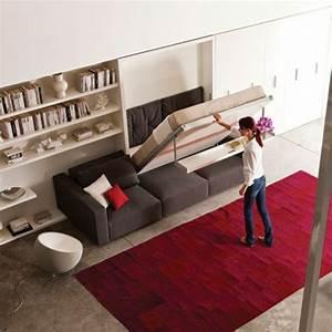 Jugendzimmer Platzsparend : bettsofa mit matratze und bettkasten ~ Pilothousefishingboats.com Haus und Dekorationen