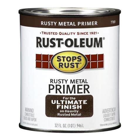 Shop Rustoleum Stops Rust Rusty Red Flat Oilbased Enamel