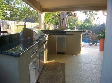 custom houston outdoor kitchens lone star patio builders