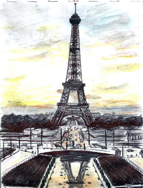 Drawings Of The Eiffel Tower Tumblr Wwwpixsharkcom