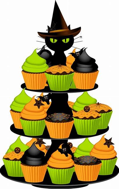 Halloween Cupcakes Clipart Clipartbest Clip Cake Cat