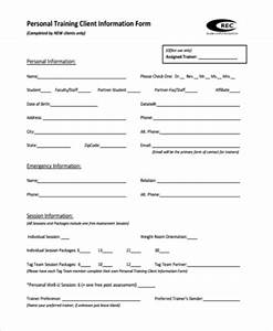 sample fitness assessment forms 9 free documents in pdf With personal training assessment template