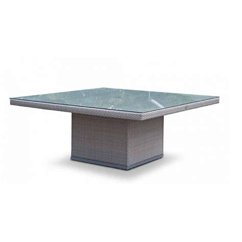 square outdoor dining table seats 8 pacific large square table 180x180 outdoor dining