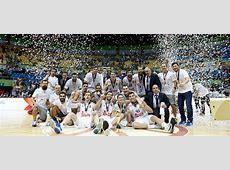 Real Madrid Basketball International Cup 2015 Champions!
