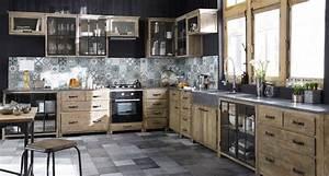 Meubles de cuisine independant et ilot maison du monde for Cuisines maisons du monde