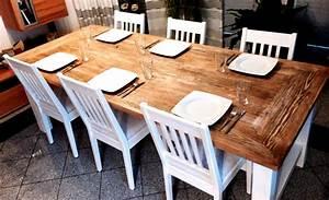 Esszimmertisch Selber Bauen : ein massivholz esstisch selbst gebaut selber machen heimwerkermagazin ~ Frokenaadalensverden.com Haus und Dekorationen