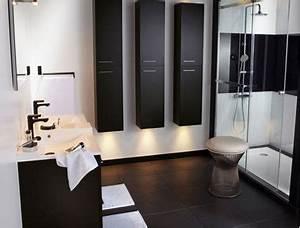 Salle De Bain Noir Et Blanc C39est La Tendance Dco Deco Cool