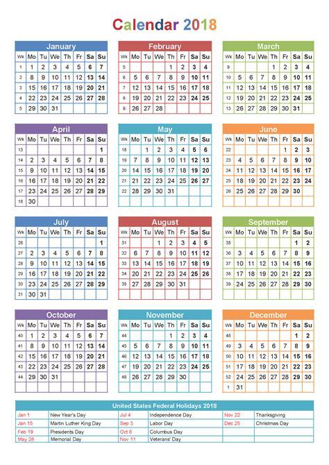 yearly calendar  printable large  worksheets