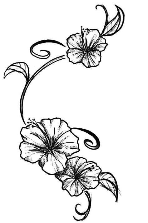 Flowers tattoo by ~Kupo-Nut89 on deviantART | Hibiscus tattoo, Tattoos, Flower tattoos