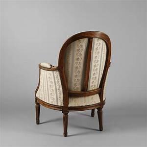 Cabriolet Fauteuil : berg re et fauteuil cabriolet en bois naturel style louis ~ Melissatoandfro.com Idées de Décoration