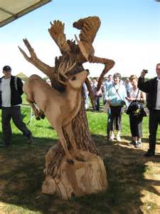 Echo Chainsaw Carving Bob King Team Member