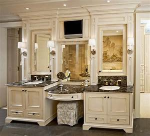 Custom, Made, Refined, And, Elegant, Bathroom, Cabinetry, By