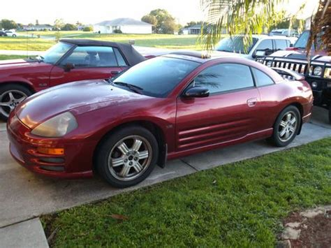 car engine repair manual 1995 mitsubishi eclipse electronic valve timing sell used mitsubishi eclipse gt 2001 24 valve v6 automatic electronic manual coupe leather in