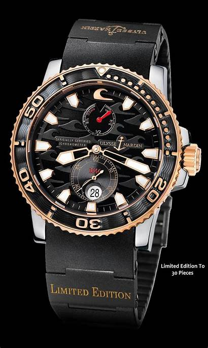 Nardin Ulysse Limited Edition Diver Pieces Maxi