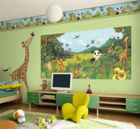 Kinderzimmer Gestalten Afrika by Lustige Dschungel Dekoration Im Kinderzimmer 15 Sch 246 Ne