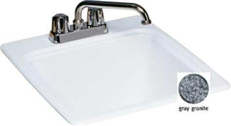swanstone veritek drop in laundry sink swanstone veritek drop in laundry tub gray granite dit s
