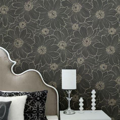 vivienne floral wallpaper  brewster lelands wallpaper