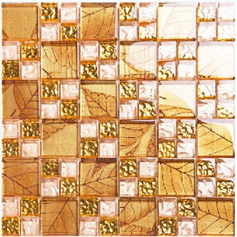gold tile backsplash ideas bathroom glass mosaic