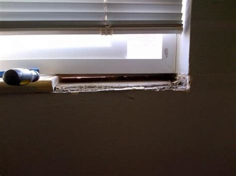 How Do You Replace A Window Sill by How Can I Replace Tile Like Window Sills That Go The