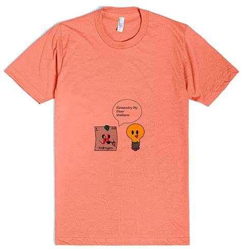 Amazon.com: Skreened Elementry | L Coral T-Shirt: Clothing