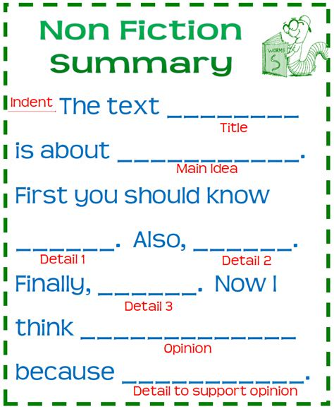 summary template anchor chart nonfiction summary template 2 png
