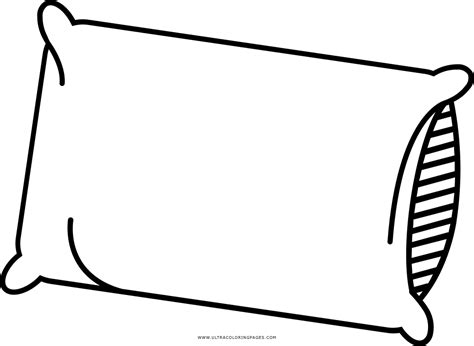dibujo de almohada para colorear ultra coloring pages
