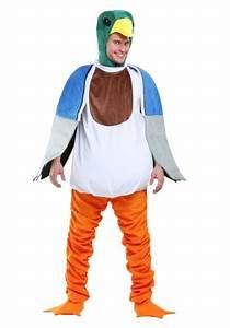 Rubies Costume Size Chart Mallard Duck Costume For Adults
