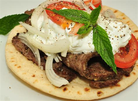 how traditional gyro is made