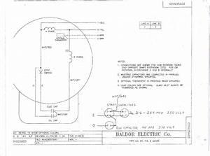 Baldor L1410t Capacitor Wiring