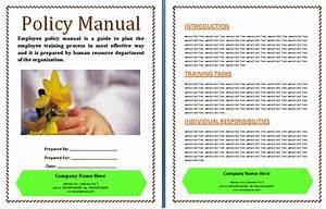 Policy Manual Templates