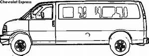 ford van coloring coloring pages With ford econoline van
